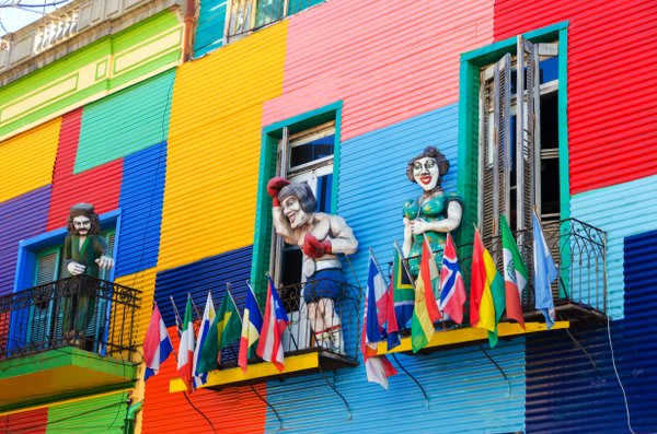 Buenos Aires Colorful Art City