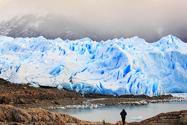Trekking Around Glaciers