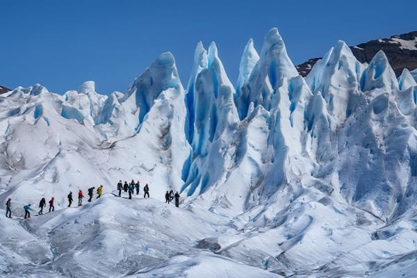Hiking with Crampons Argentina
