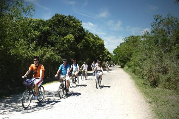Tigre River FD Bike Tour and Canoeing