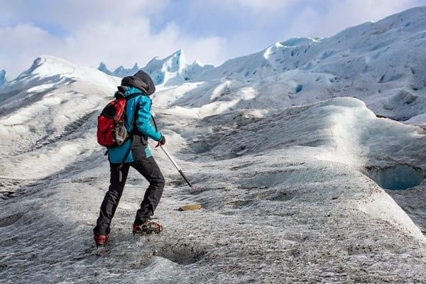 Trekking on the Glaciers
