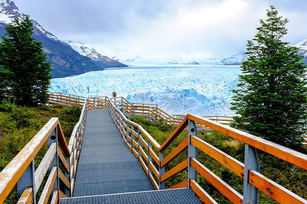 Free morning around glaciers