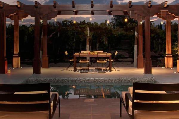 Luxurious Room at Cava Wine Lodge