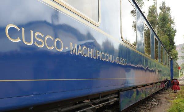 Blue Train Cusco to Machu Picchu