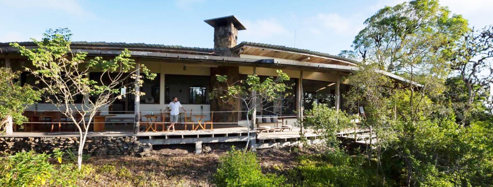 Safari Camp terrace