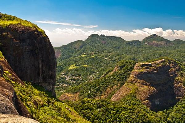 Atlantic Rainforest Mountains