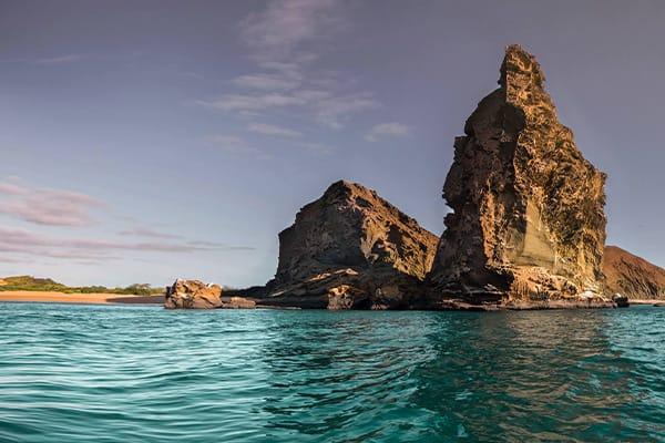 galapagos rock formations