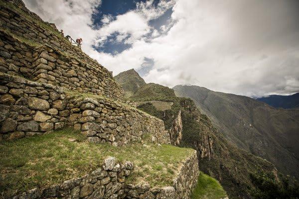 Machu Picchu Ruins Andenes