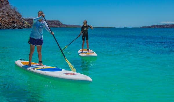 Paddle Boarding in Galapagos