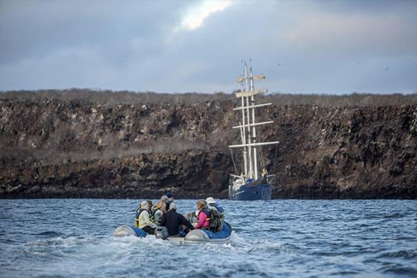Panga Ride Galapagos