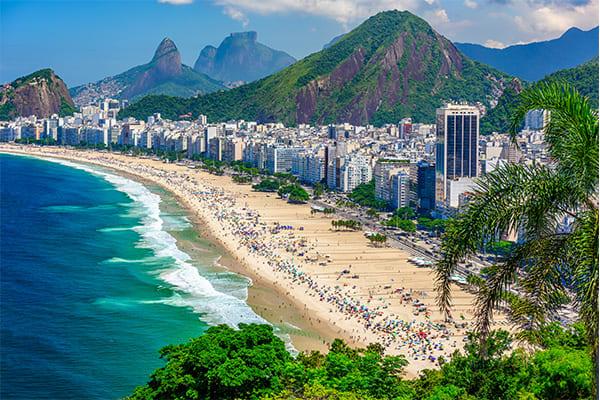 A view of Rio's beaches