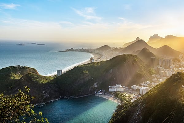 View of Rio from above