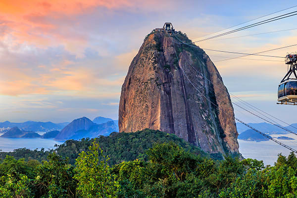 Sugar Loaf with Cable Car