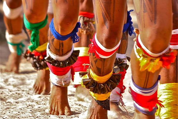 Indigenous dance ceremony