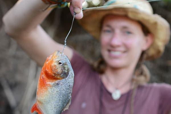 Piranha Fishing Girl