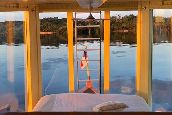 Amazon Odyssey boat