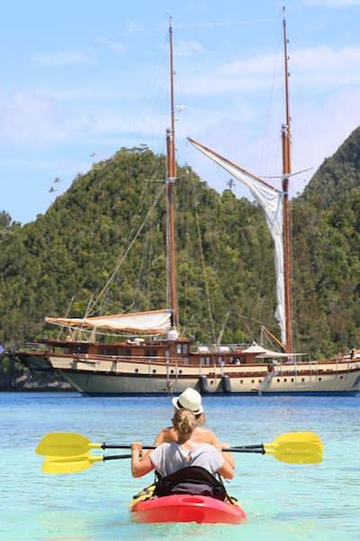 Kayaking On Adventure Cruises In Southeast Asia