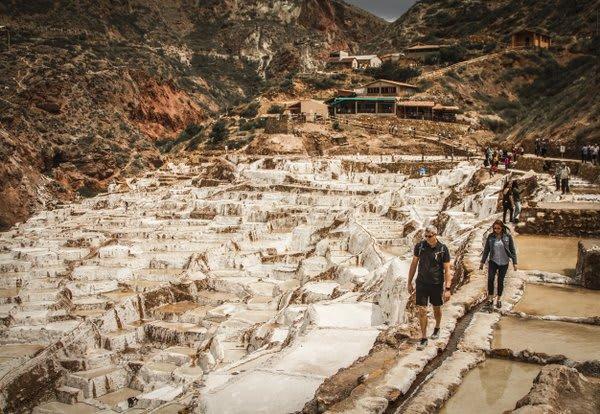 Salt Mines Maras and Moray Ruins
