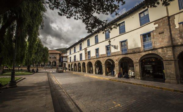 Cusco Peru Cloistered Walkway