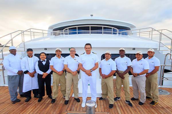 Crew of Elite Galapagos