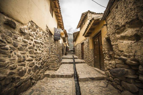Windy Path Ollantaytambo Peru