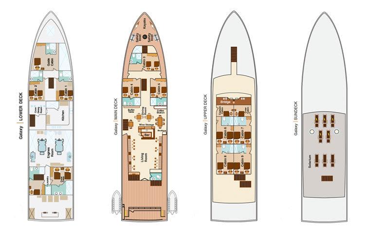 detailed deck plan