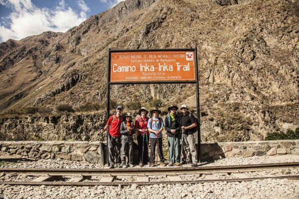 Inca Trail Starting Point
