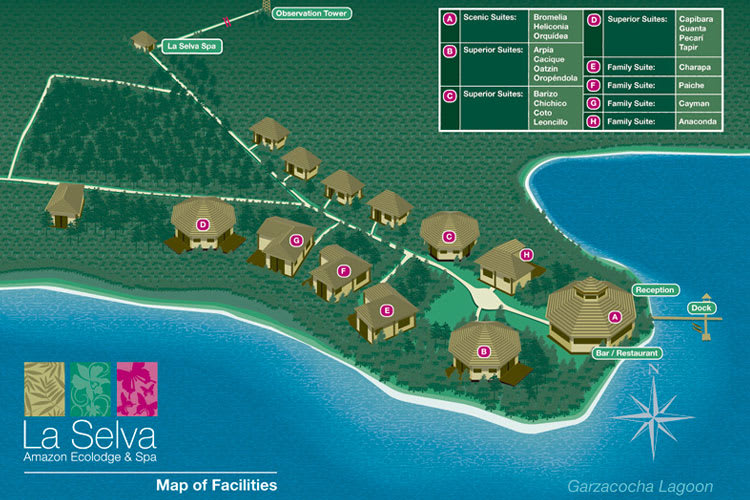 Map of the camp