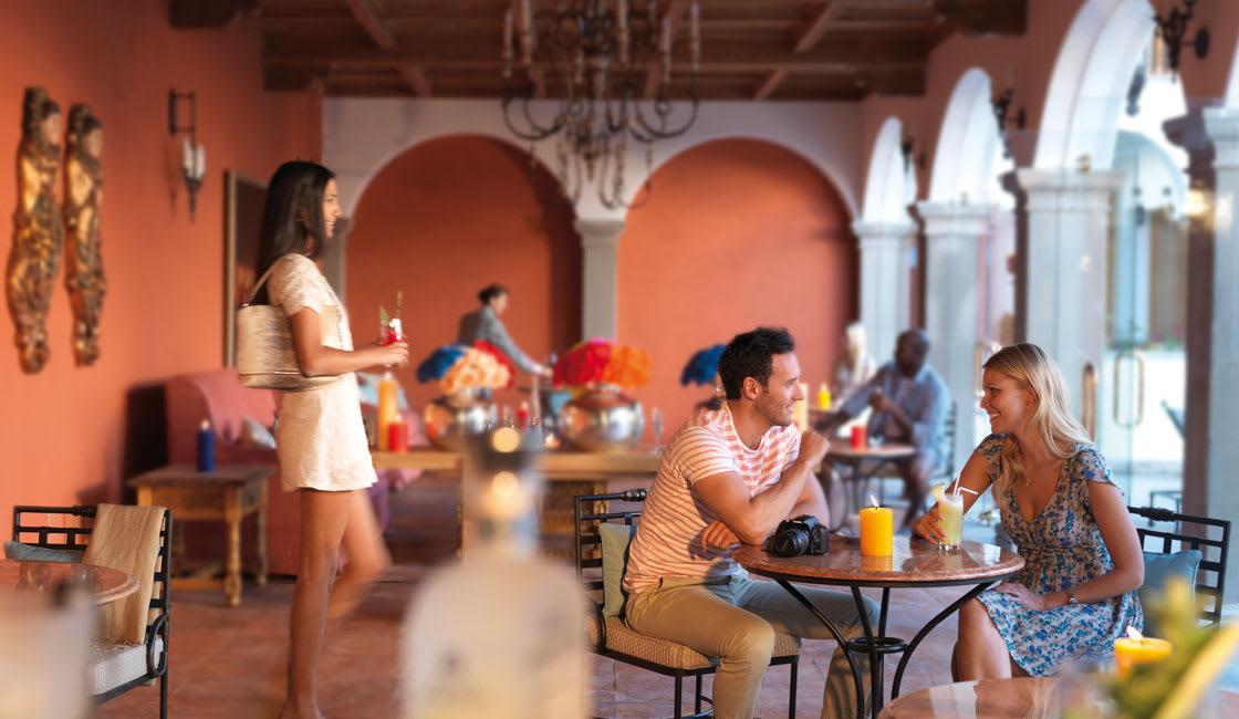 couple at nazarenas bar