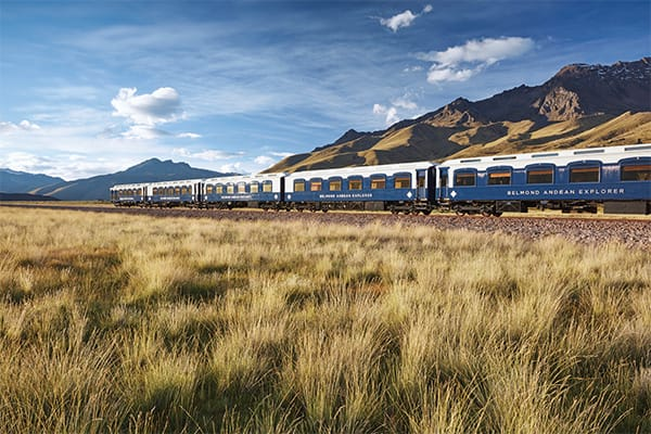 Andean Explorer Train through Altiplano