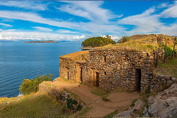 Sun Island Titicaca Bolivia