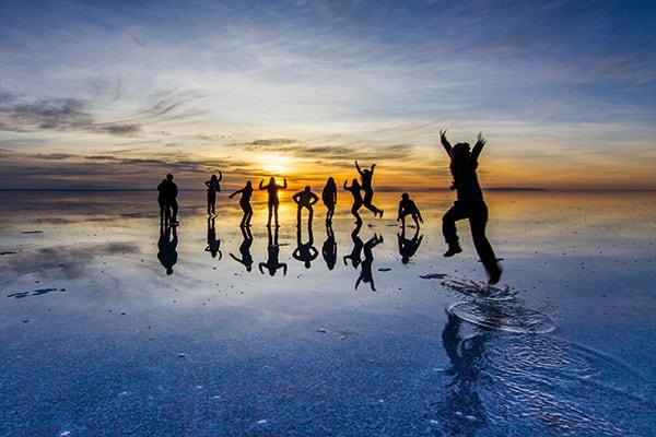Salary Uyuni photos Sunset