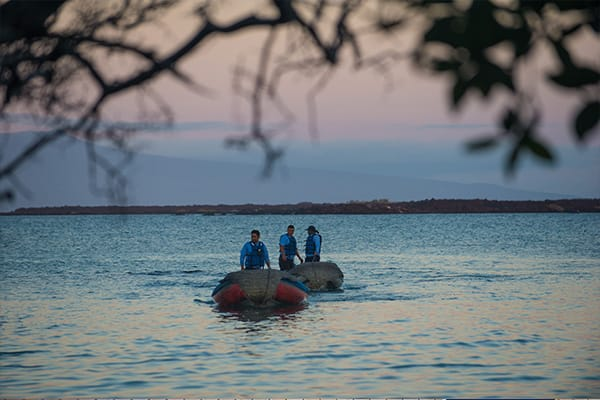 Zodiak Excursion Galapagos