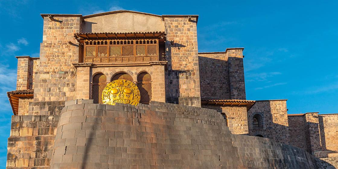 Panoramic,Photograph,Of,The,Inca,Sun,Temple,Or,Qorikancha,In