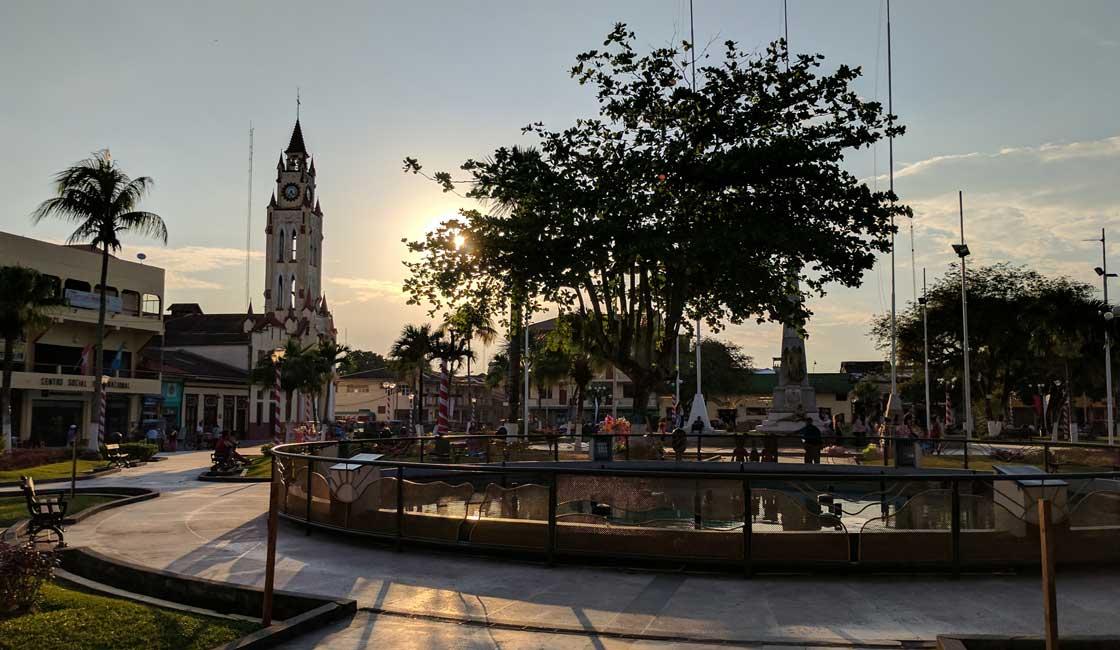 Square in Iquitos