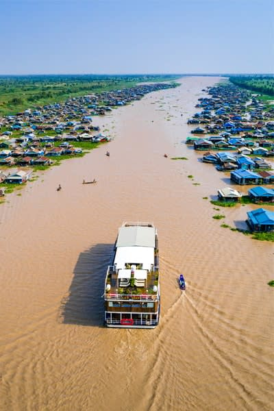 Expedition Cruise on the Mekong River