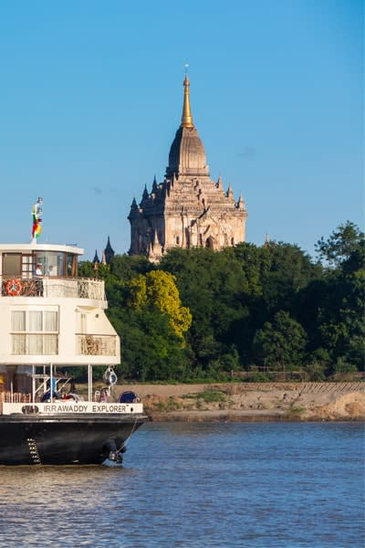 Expedition Cruise on the Irrawaddy River