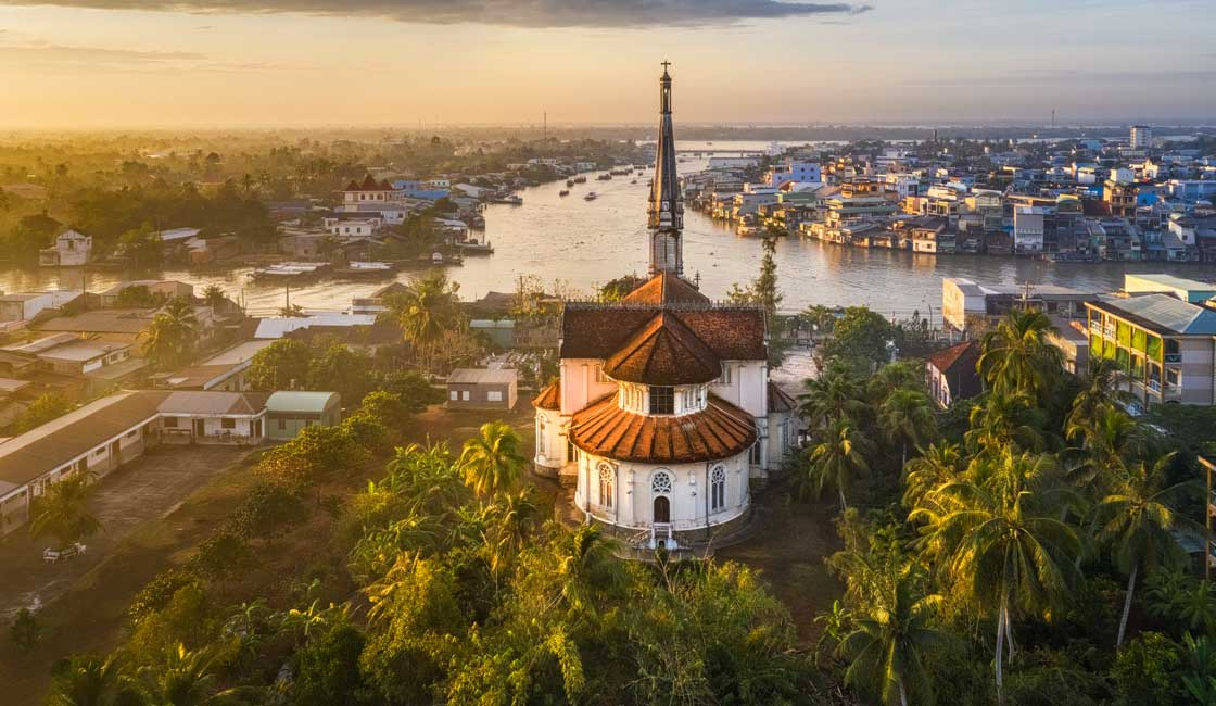Church in the Mekong Delta