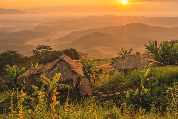 Village in Northern Thailand