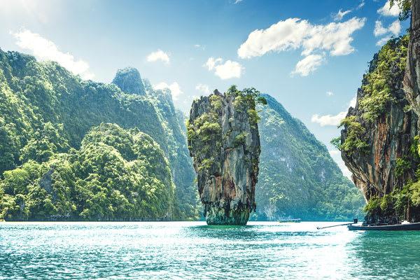 Phang Nhga Bay karst island