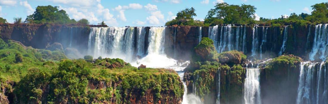 Large waterfalls