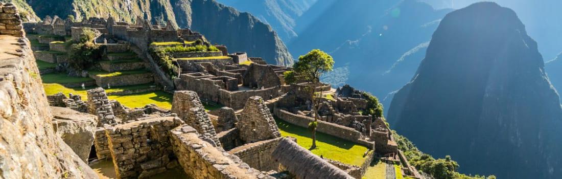 Ruins in Machu Picchu
