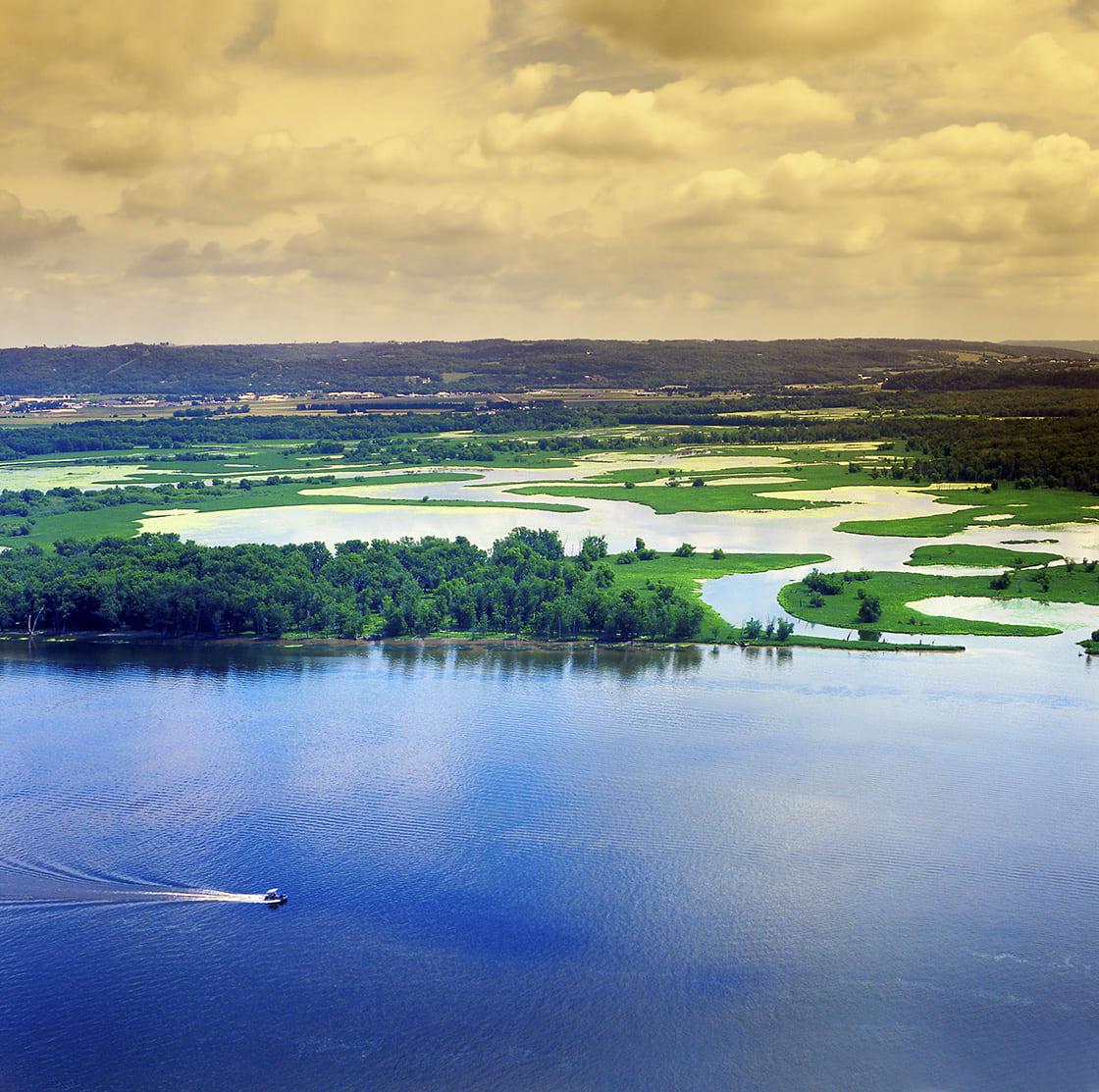 The,Upper,Mississippi,River