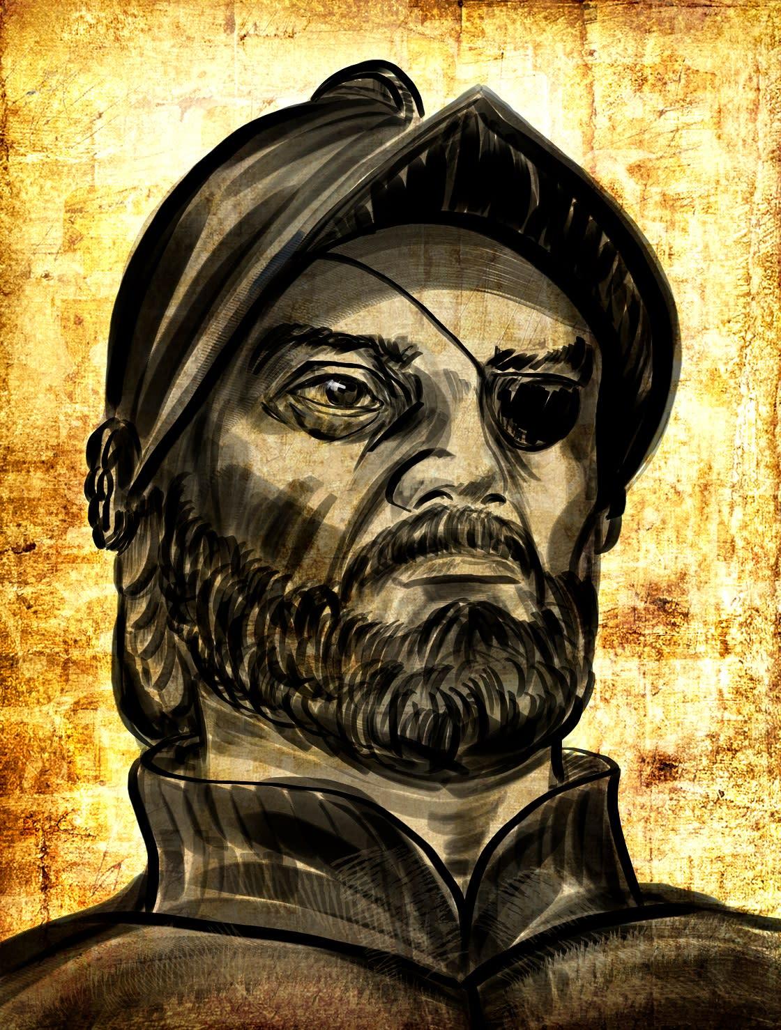 Francisco De Orellana; Spanish Traveler And Discoverer Of The Amazon River