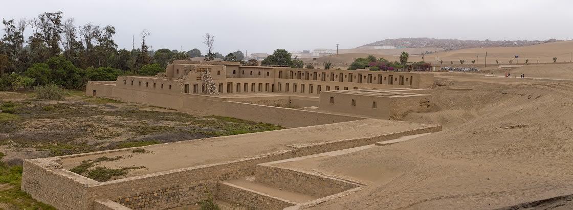 Ruins Of Pachacamac