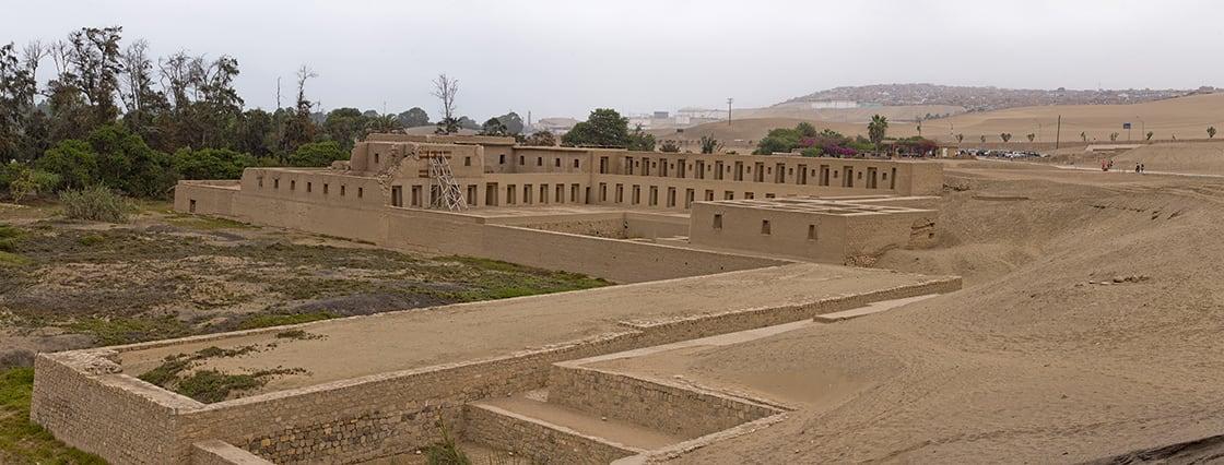 Archaeological,Sanctuary,Of,Pachacamac,,Inca,Religious,Veneration,Center