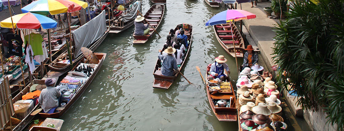 Floating,Market