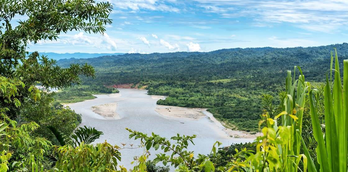 View Of The Amazonia From Manu National Reserve
