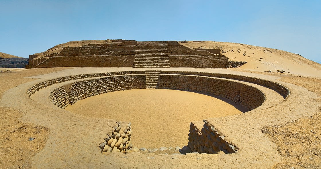 Sacred City Of Caral, North Lima