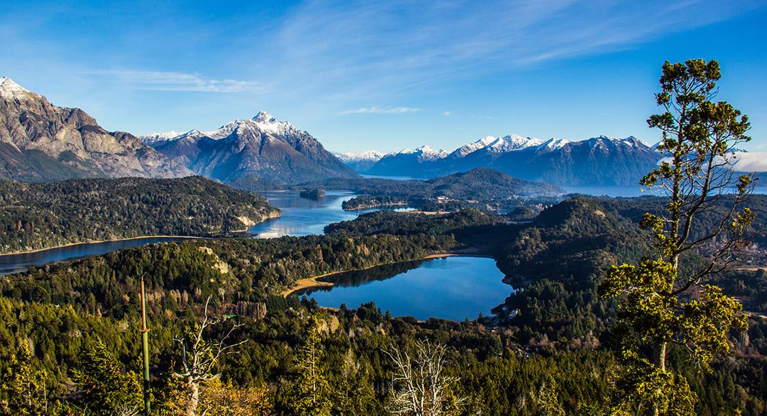 View Of The Nahuel Huapi Lake From Campanario Hill